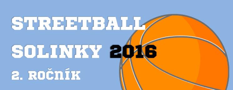 Streetball Solinky 2016 - plagát